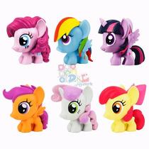 6 Figuras My Little Pony Mi Pequeño Pony Origin Hasbro Torta