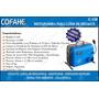 Máquina Destapa Cañerías Cofahe 150 Con Herramientas Y Acces