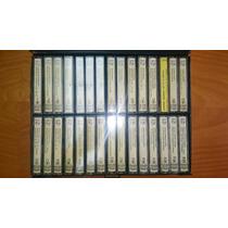 Coleccion De Cassettes De Musica Clasica Con Estuche 30 Unid