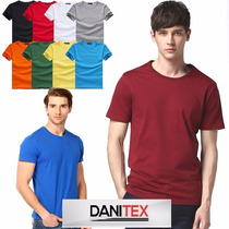 Remeras Lisas Estampar-bordar Algodon 24/1 - Danitex