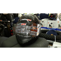 Casco Ls2 Ff350 Negro Brillo Single Mono