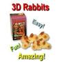 Conejos 3 D (por Goshman) Magia De Salón/infantil