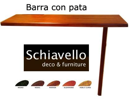 Mesada cocina barra desayunador tabla de madera pasaplato for Barras para cocina y desayunadores