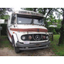 Mercedes Benz 1114 Chasis Largo Furgon 1980 Marron !!!!