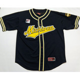 Casaca Baseball Michigan Wolverines Colosseum Talle Xl Mlb