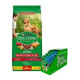 Dog Chow Adultos Medianos Grandes X 21 + 3 Kg