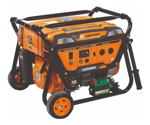 Generador Portátil Lüsqtoff Lg3500ex 3500w 220v