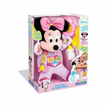 Baby Minnie Mi Primera Muñeca 40 Cm Interactiva Didactica