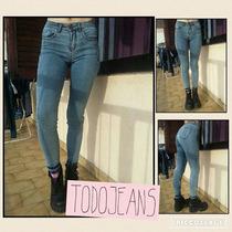 Ossira Jeans Tiro Alto