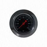 Pirometro - Termometro Para Horno De Barro-fondo Negro- 600°