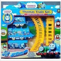Tren Tomas Eléctrico,con Las Vías.