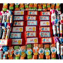 Candy Bar Temática Circo P/30 Chicos/90 Golosinas!