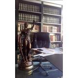 Estatua De La Justicia - Petit Bronce - Regalo Para Abogados