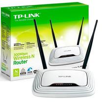 Router Wifi Tplink 300mb/s 2 Antenas 841n Local A La Calle
