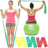 Banda Elastica 150cm Medium Theraband Ejercicio Fitness Yoga
