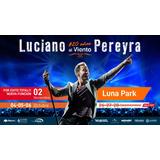 Entradas Luciano Pereyra Cabeceras Jueves 26/09