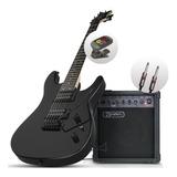 Combo Guitarra Dean Vnxmt + Amplificador + Afinador + Cable
