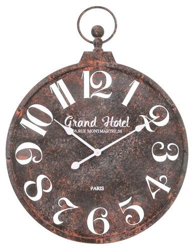 f28cfeb9f63f Reloj Pared Grande Diametro 60 Cm Antiguo Metal 180214 en venta en Caseros  Caseros Bs.As. G.B.A. Oeste por sólo   4899