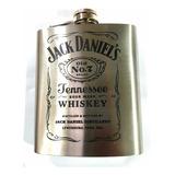 Petaca Acero Inoxidable Jack Daniels Regalo Original