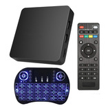 Smart Tv Box Android Tv Quad Core Android Wifi Y Teclado