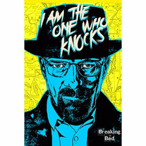 Posters Lona Front Plástica Ojal 105x70cm Breaking Bad Tv-01