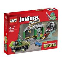 Lego Juniors De Tortugas Ninja 10669 - 107 Piezas!