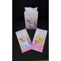 Bolsas De Papel Tipo Sobre De Princesas ( X10 Unidades)