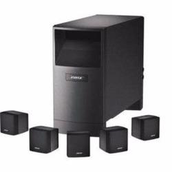 Sistema de audio hogar BOSE ACOUSTIMASS6V, c/negro