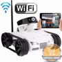Mini Drone Spy Tank Con Camara Control Wifi Juguete Tanque