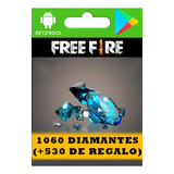 Free Fire 1060 Diamantes (+530 De Regalo, Leer Descripción)