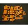Kit De Piezas Plasticas Para Impresoras 3d Prusa I3 Reprap
