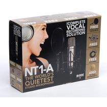 Rode Nt1a Microfono Condenser + Accesorios - Factura A Y B