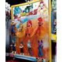 Blister Muñecos X8 Dragon Ball Z Goku Vegeta Fase Dios