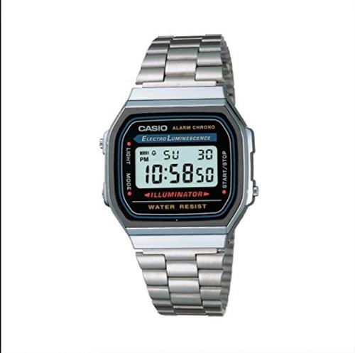 eb8bafc7f1e2 Reloj Casio Vintage A-168wa-1w Ag Of Local Barrio Belgrano