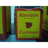 Antigua Caja De Almidon Colman Sin Abrir De 100gr