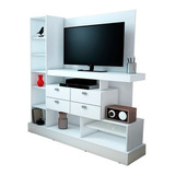 Modular Rack Tv 126 Mosconi Mueble Para Tv / Led 55'