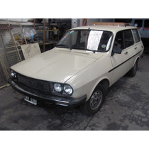 Renault 12 Break Con Gnc 5 Ptas 1986 Beige Base !!!