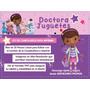 Doctora Juguetes: Kit De Cumpleaños Para Imprimir En Casa