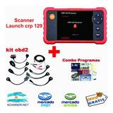 Escaner Automotriz Launch Profesional  + Kit Obd2 Autos + Programas De Regalo + Curso Inyeccion Electronica De Regalo!!!