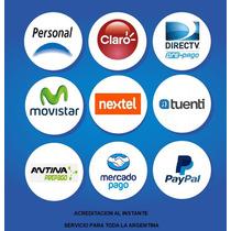 Carga Virtual Para Celulares 100 Pesos *