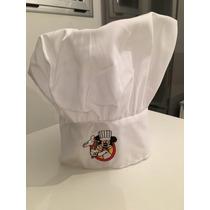 Gorro De Cocinero Mickey, Original Disney!