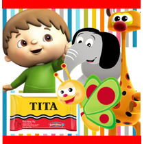 Kit Imprimible Baby Tv Candy Bar