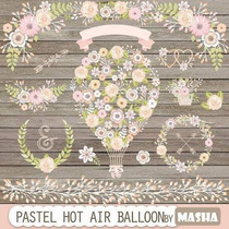 Kit Imprimible Shabby Chic 22 Imagenes Clipart