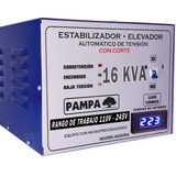 Elevador De Tensión Automático 16kva Rango 110 - 245 Cuotas