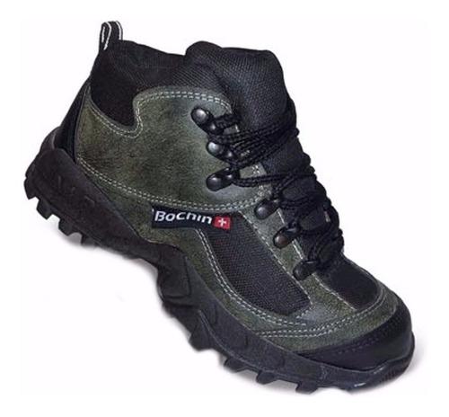 619ed3b7db Botita De Seguridad Bochin Trabajo Calzado Trekking en venta en ...