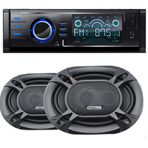 Combo Stereo Bluetooth Parlantes Usb Suzuki Time Fte Desmont
