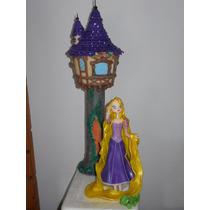 Rapunzel Y La Torre En Porcelana Fría