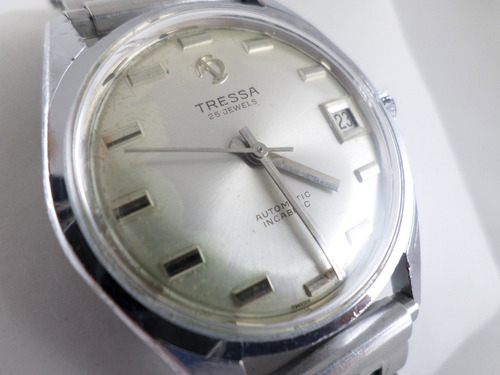 5a61d2fcbc54 Reloj Tressa Auto Calendario Excelente Ver Video!