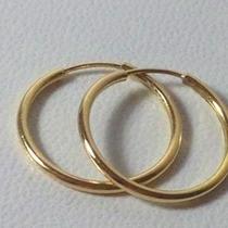 Aros Argollas De Oro 18 K