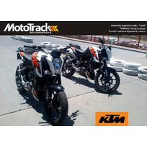 Ktm Duke 200 White / Orange 0km 2014